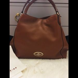 Authentic Coach Handbag w Dust Bag! Used 1x only!